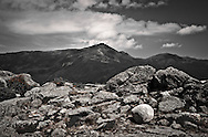 This photograph was created while stopping along the Mount Washington Auto Road.