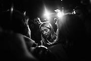 Giorgia Meloni incontra gli abitanti del quartiere di Tor Sapienza, Roma 13 Novembre 2014.  Christian Mantuano / OneShot