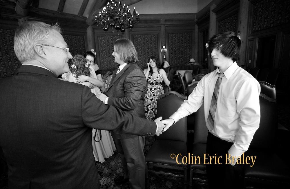 Salt Lake City wedding photographer Colin Braley's best images from the Jenkins-Chartier wedding at Snowbasin Ski Resort in Utah.