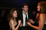 Andrea Lucas, Guy Lucas and Rebecca Loos. The Red Cross London Ball, The Room by the River: 99 Upper Ground, Waterloo, London, SE1. 21 November 2007. -DO NOT ARCHIVE-© Copyright Photograph by Dafydd Jones. 248 Clapham Rd. London SW9 0PZ. Tel 0207 820 0771. www.dafjones.com.