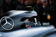 Circuito de Jerez, Spain : Formula One Pre-season Testing 2014. Nico Rosberg  (GER), and Lewis Hamilton (GBR), present the new Mercedes Petronas Formula 1 car.