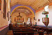 Chapel,  Mission San Antonio de Padua (3rd Mission-1771), Jolon, California