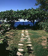 Sunken Garden at Fleming House - Goldeneye - Jamaica