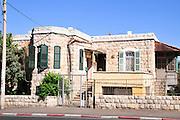 Israel, Haifa, The German Colony (established in Haifa in 1868 by the German Templers)