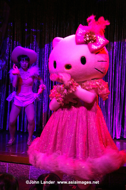 Hello Kitty Show at Sanrio Puroland - an indoor theme park located in Tama Center, Tokyo that attracts over 1.5 million visitors per year and hosts various musicals, restaurants, attractions, and theme rides using popular characters such as Hello Kitty, Pochacco, Keroppi, and many more. While many of the shows are only in Japanese, Puroland nevertheless attracts many visitors from overseas as well as Japan because of the worldwide popularity of these characters.   Puroland has become one of Japan's most popular attractions.