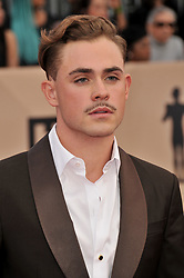 Dacre Montgomery arrives at the 24th annual Screen Actors Guild Awards at The Shrine Exposition Center on January 21, 2018 in Los Angeles, California. <br />