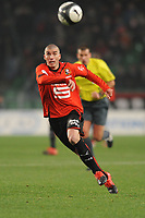 FOOTBALL - FRENCH CHAMPIONSHIP 2009/2010  - L1 - STADE RENNAIS v PARIS SAINT GERMAIN - 19/12/2009 - PHOTO PASCAL ALLEE / DPPI - JEROME LEROY (REN)