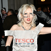Black Honey frontwoman Izzy B Phillips attend Fashion Scout LFW AW19 Day 1 at Freemasons' Hall, London, UK. 15 Feb 2019