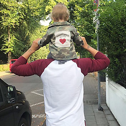 """Lukas Podolski releases a photo on Instagram with the following caption: """"My Angel \ud83d\udc95 #biglove #nothingmoreimportant"""". Photo Credit: Instagram *** No USA Distribution *** For Editorial Use Only *** Not to be Published in Books or Photo Books ***  Please note: Fees charged by the agency are for the agency's services only, and do not, nor are they intended to, convey to the user any ownership of Copyright or License in the material. The agency does not claim any ownership including but not limited to Copyright or License in the attached material. By publishing this material you expressly agree to indemnify and to hold the agency and its directors, shareholders and employees harmless from any loss, claims, damages, demands, expenses (including legal fees), or any causes of action or allegation against the agency arising out of or connected in any way with publication of the material."""