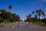 Sao Paulo_SP, Brasil...Parque da Independencia, situado no local onde foi proclamada a independencia do Brasil...The Independence Park located at the place where proclaimed the Brazil independence...Foto: MARCUS DESIMONI / NITRO