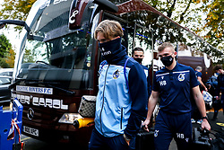 Luke McCormick of Bristol Rovers arrives at Rochdale - Mandatory by-line: Robbie Stephenson/JMP - 31/10/2020 - FOOTBALL - Crown Oil Arena - Rochdale, England - Rochdale v Bristol Rovers - Sky Bet League One