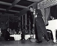 1954 Nat King Cole singing at Ciro's Nightclub