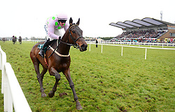 Getabird ridden by Paul Townend wins the Rathbarry & Glenview Studs Novice Hurdle during BoyleSports Irish Grand National Day of the 2018 Easter Festival at Fairyhouse Racecourse, Ratoath, Co. Meath.