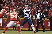 Jan 20, 2019-NFL-AFC Championship-New England Patriots at Kansas City Chiefs