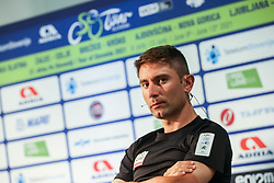 Diego Ulissi during press conference prior to the 27th Tour of Slovenia, on June 08, 2021 in Ptuj, Slovenia. Photo by Vid Ponikvar / Sportida