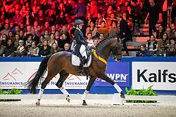 Van Uytert Renate, NED, Bordeaux<br /> KWPN hengstenkeuring - 's Hertogenbosch 2020<br /> © Hippo Foto - Dirk Caremans<br /> 31/01/2020