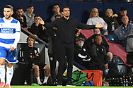 West Bromwich Albion manager Valerien Ismael  gets animated during the EFL Sky Bet Championship match between West Bromwich Albion and Queens Park Rangers at The Hawthorns, West Bromwich, England on 24 September 2021.