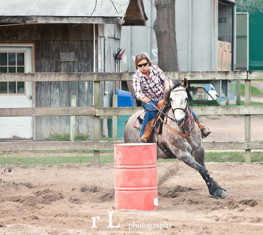 NY IBRA, International Barrel Racing Association at Sundance Stables on April 14 2012
