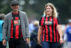 Bournemouth fans make their way to the ground before the Premier League match at the Vitality Stadium, Bournemouth.