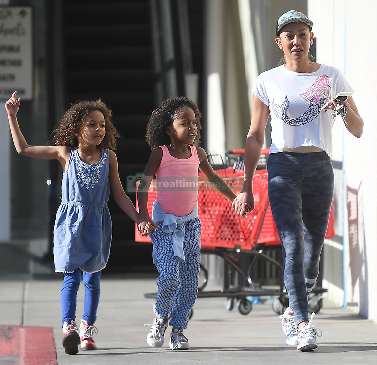 EXCLUSIVE: Mel B shows off her youthful style sporting camo yoga leggings while shopping with her daughter Madison at Marshalls department store in Los Angeles on Thursday. It's been reported recently that Mel B will be touring with the Spice Girls for a reunion tour. 15 Feb 2018 Pictured: Mel B. Photo credit: GAC/MEGA TheMegaAgency.com +1 888 505 6342