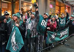 The Philadelphia Eagles travel to play the Seattle Seahawks at CenturyLink Field on December 2, 2017 in Seattle, Washington.  (Photo by Drew Hallowell/Philadelphia Eagles)