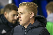 Birmingham City Manager Garry Monk  during the EFL Sky Bet Championship match between Millwall and Birmingham City at The Den, London, England on 28 November 2018.