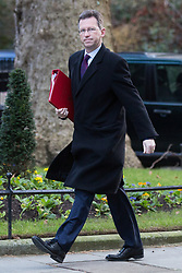 London, UK. 8th January, 2019. Jeremy Wright QC MP, Secretary of State for Digital, Culture, Media and Sport, arrives at 10 Downing Street for the first Cabinet meeting since the Christmas recess.