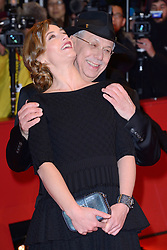 Cecile de France and Dieter Kosslick attending the Opening Ceremony and the Isle of Dogs Premiere during the 68th Berlin International Film Festival (Berlinale) in Berlin, Germany on February 15, 2018. Photo by Aurore Marechal/ABACAPRESS.COM