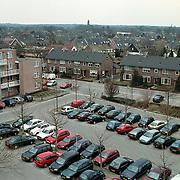 Parkeerterrein gemeentehuis Huizen en