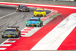 03.08.2014, Red Bull Ring, Spielberg, AUT, DTM Red Bull Ring, Renntag, im Bild Robert Wickens, (CAN,1. Platz Qualifying, FREE MAN'S WORLD Mercedes AMG C-Coupe), Augusto Farfus, (BRA, 2. Platz, Rennen, Castrol EDGE BMW M4 DTM), Timo Glock, (GER, 3. Platz, Rennen, Deutsche Post BMW M4 DTM), Pascal Wehrlein, (GER, gooix Mercedes AMG C-Coupe) // during the DTM Championships 2014 at the Red Bull Ring in Spielberg, Austria, 2014/08/03, EXPA Pictures © 2014, PhotoCredit: EXPA/ M.Kuhnke