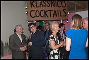 MARK WALLINGER; ADELE DOWNEY, Matt's Gallery 35th birthday fundraising supper.  42-44 Copperfield Road, London E3 4RR. 12 June 2014.