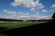 Pirelli stadium falls silent in remembrance of Ugo Ehiogu, former Leeds United player during the EFL Sky Bet Championship match between Burton Albion and Leeds United at the Pirelli Stadium, Burton upon Trent, England on 22 April 2017. Photo by Richard Holmes.