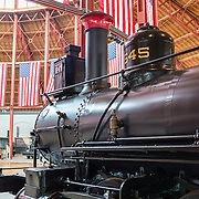The B&O Railroad Museum in Mount Clare in Baltimore, Maryland, has the largest collection of 19th-century locomotives in the United States.