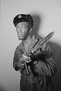 """1006-B070-04 """"Tommy Anderson with gun"""" (Eugene Black Panthers)"""