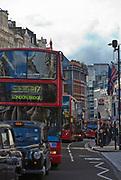 Londyn, 2009-10-23. Londyńska ulica