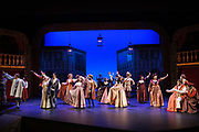 SCU Presents Romeo & Juliet performed at the Mayer Theatre at Santa Clara University in Santa Clara, California, on May 30, 2019. (Stan Olszewski/SOSKIphoto)