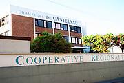 Champagne de Castelnau, a regional co-operative cooperative champagne house, Reims, Champagne, Marne, Ardennes, France