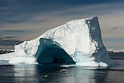 Icebergs in the Antarctic Sound