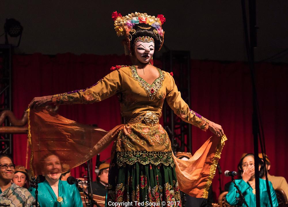 Java dancing at CalArts.