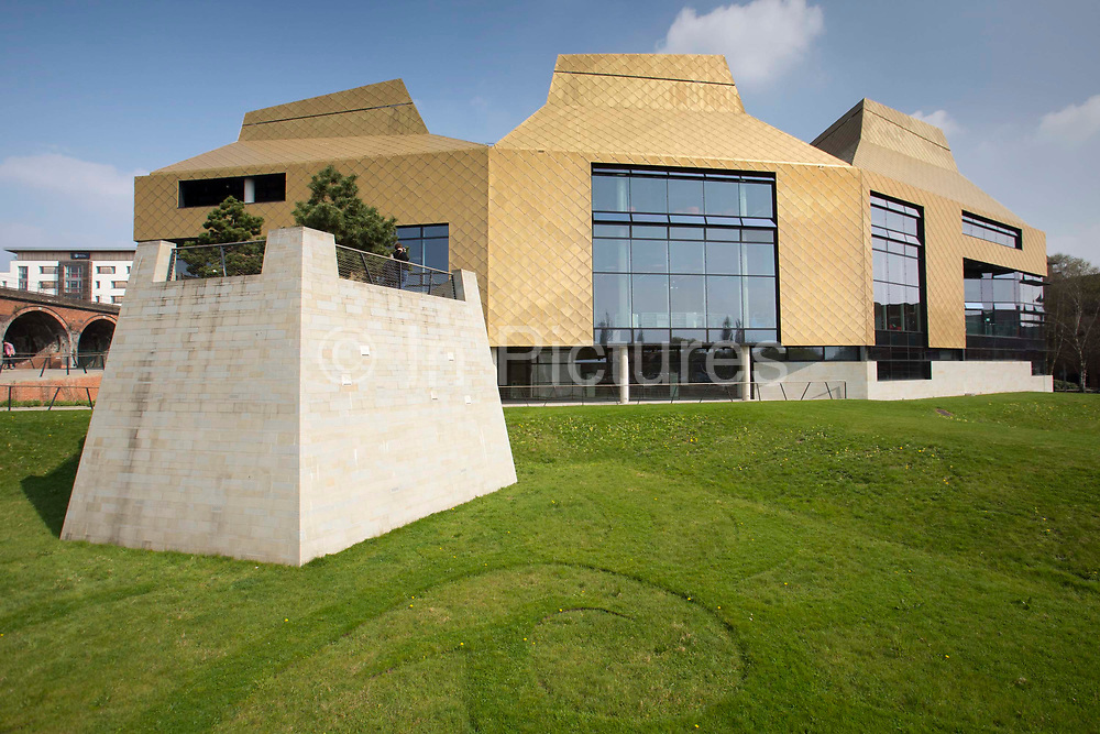 The Hive in Worcester UK. The first fully integrated university and public library in the UK.