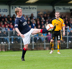 Falkirk's Craig Sibbald..Annan Athletic 0 v 3 Falkirk. Semi Final of the Ramsdens Cup, 9/10/2011..Pic © Michael Schofield.