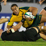 Siliva Siliva, Australia, in action during the Australia V New Zealand Final match at the IRB Junior World Championships in Argentina. New Zealand won the match 62-17 at Estadio El Coloso del Parque, Rosario, Argentina,. 21st June 2010. Photo Tim Clayton...