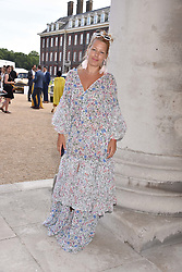 Davina Harbord at the Concours d'éléphant in aid of Elephant Family held at the Royal Hospital Chelsea, London, England. 28 June 2018.