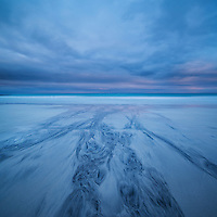 Skagsanden beach, Flakstadøy, Lofoten Islands, Norway