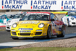 Car 5 - Richard Plant, Porche Carrera Cup..British Touring Car Championship at Knockhill, Sunday 4th September 2011. .© pic Michael Schofield.