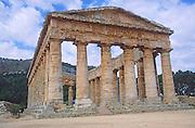 Doric temple at Segesta, Sicily, Italy
