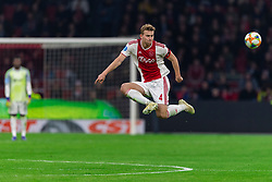 13-03-2019 NED: Ajax - PEC Zwolle, Amsterdam<br /> Ajax has booked an oppressive victory over PEC Zwolle without entertaining the public 2-1 / Matthijs de Ligt #4 of Ajax