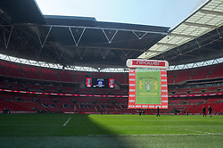 Yeovil Town win the play off final at wembley - Photo mandatory by-line: Dougie Allward/JMP - Tel: Mobile: 07966 386802 19/05/2013 - SPORT - FOOTBALL - LEAGUE 1 - PLAY OFF - FINAL - Wembley Stadium - London - Brentford V Yeovil Town