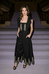 Sai Bennett on the front row during the Temperley Autumn/Winter 2017 London Fashion Week show at Banking Hall, London. PRESS ASSOCIATION Photo. Picture date: Sunday February 19th, 2017. Photo credit should read: Matt Crossick/PA Wire.
