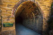 Tunnel on the Otago Central Rail Trail, Otago, South Island, New Zealand